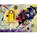 "Wassily Kandinsky ""Yellow, Red & Blue"""