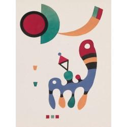 Wassily Kandinsky- 11 tableux et 7 poemes Quadro Pronto con Stampa Fine Art per Soggiorno, Ufficio o altro