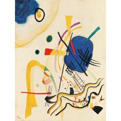 Wassily Kandinsky- Untitled Quadro Pronto con Stampa Fine Art per Soggiorno, Ufficio o altro