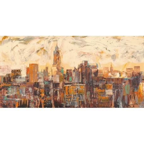 """Luigi Florio - """"Mattino a New York""""."""