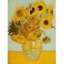 """Vincent Van Gogh""""Girasoli""""-Stampa ad Alta Risoluzione su Supporti Diversi con Misure a Scelta"""