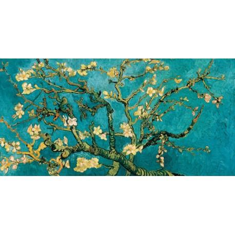 """Van Gogh""""Mandorlo in Fiore""""-Stampa d'Autore con Misure a Scelta e su Supporti Diversi"""
