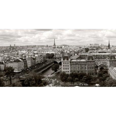 Panorama di Parigi, Vadim Ratensky. Foto stampa Alta Risoluzione