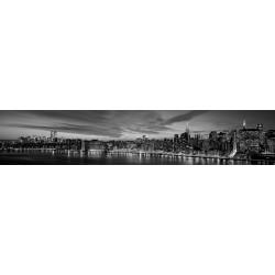 Tramonto a Manhattan-Richard Berenholtz.Tela o Poster d'Autore con Misure a Scelta