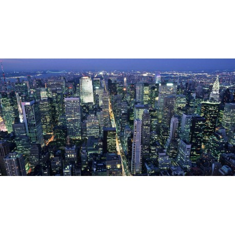 Vista panoramica dall'aereo, Michel Seboun stampa fotografica