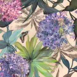Lilac Hydrangeas -Eve C. Grant. Quadro fiori -Stampa d'Autore