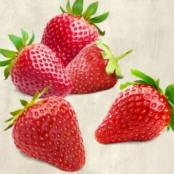 Strawberries - Remo Barbieri on high quality print