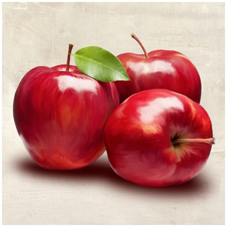Apples - Remo Barbieri high quality print