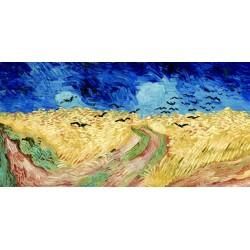 """Van Gogh""""Campo di grano""""-Stampa d'Autore con Misure a Scelta e su Supporti Diversi"""