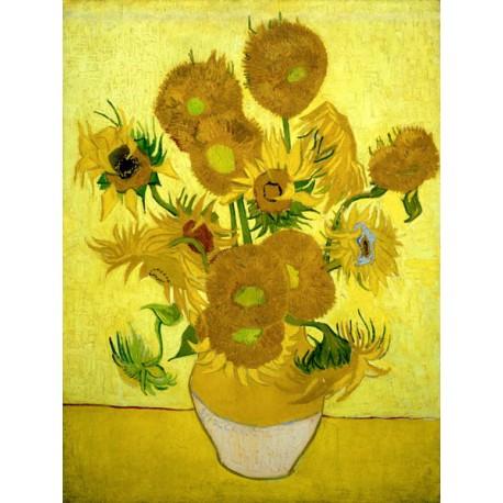 Vincent Van Gogh - Girasoli I-Stampa ad Alta Risoluzione su Supporti Diversi con Misure a Scelta