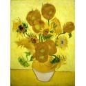 Van Gogh - Sunflowers I.Made to Measure High Resolution Original Wall Art for Home Decor
