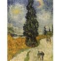 """Vincent Van Gogh""""Road with Cypresses"""""""