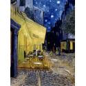 """Vincent Van Gogh """"Terrazza del Caffe' di notte""""-Stampa ad Alta Risoluzione su Supporti Diversi con Misure a Scelta"""