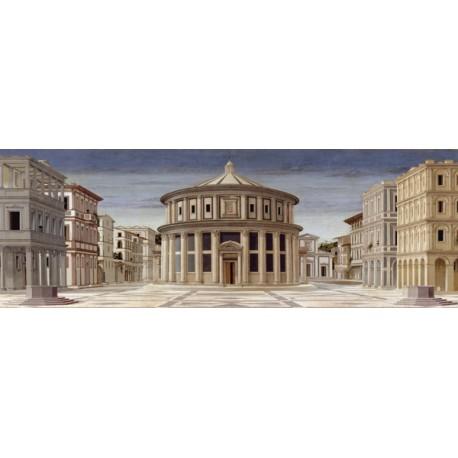 La Città Ideale-Piero Della Francesca.Stampa Artistica d'Autore con Supporti e Misure a scelta per Home Decor Design
