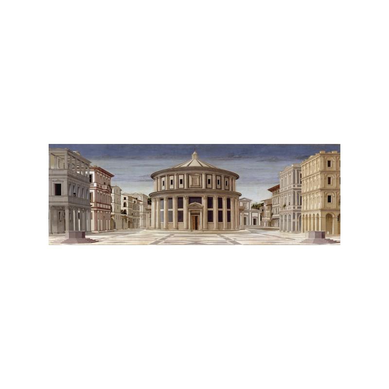 La citt ideale piero della francesca stampa artistica d for Citta design outlet