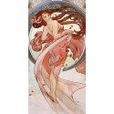 """Mucha""""Dance""""-Classical Author's Fine Art Picture for Home Decor"""