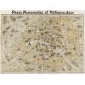 """""""Paris Monumental"""",A.Quadro Pronto o Stampa Fine Art per Soggiorno, Ufficio o altro"""