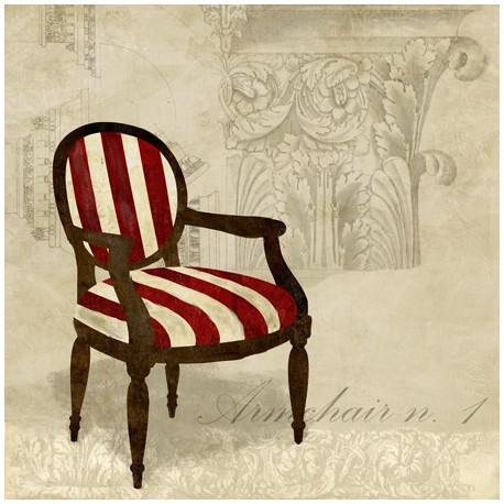 Remi Dellal - Armchair 1,Design Picture with Shabby Chic Textures for Luxury Home Decor