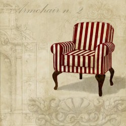 Dellal-Armchair n.2,Quadro Moderno di Design con Ambientazione Luxury Chic per Soggiorno o altro