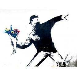 Bansky (attributed to) -Bethlehem, Stampa Street Art d'Autore su Supporti Vari e con Misure Diverse