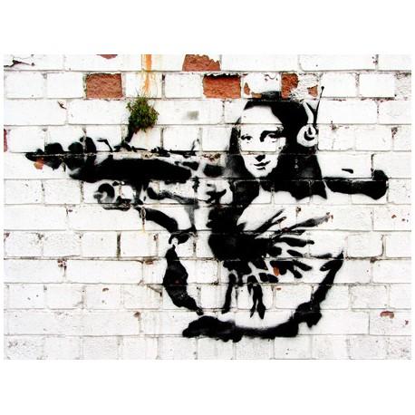 Banksy (attributed to) -Soho,London, Stampa Street Art d'Autore su Supporti Vari e con Misure Diverse
