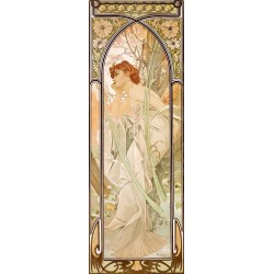 Mucha - times of the Day: Evening
