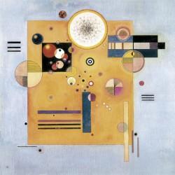 Kandinsky Wassily -Sanfter Nachdruck stampa ad alta risoluzione