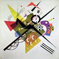 Kandinsky Wassily - On White II stampa ad alta risoluzione