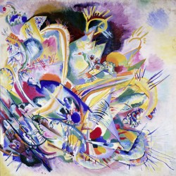 Kandinsky Wassily - improvisation Painting stampa ad alta risoluzione