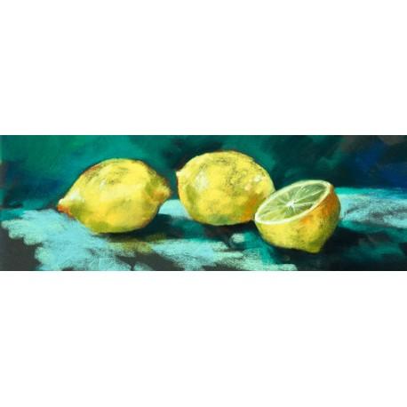 Nel Whatmore-Lemons quadro con limoni
