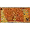 Klimt Gustav - The three of life (variation in red)