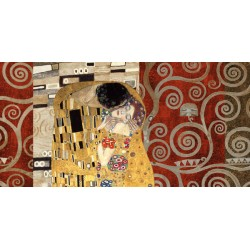 Gustav Klimt - the Kiss (gold)