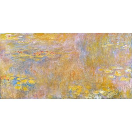 Claude Monet-Waterlilies