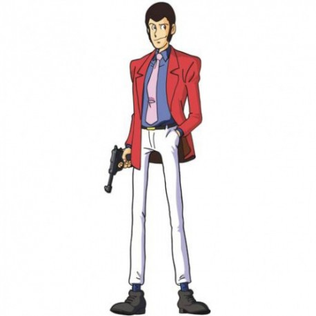 Lupin The Third, Sagoma a figura intera del famoso Personaggio dei Cartoon