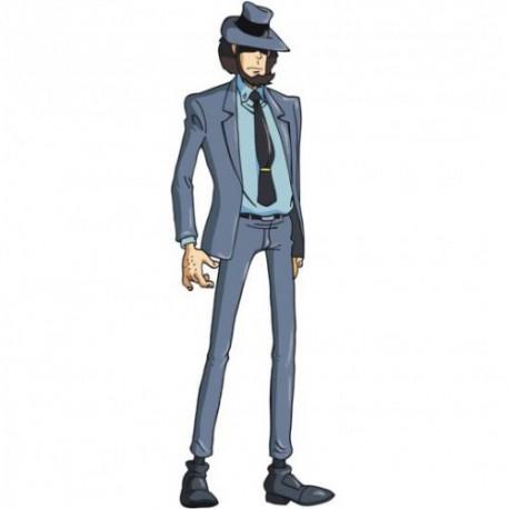 Daisuke Jigen,Serie Lupin The Third, Pannello Sagomato del famoso Personaggio dei Cartoni Animati