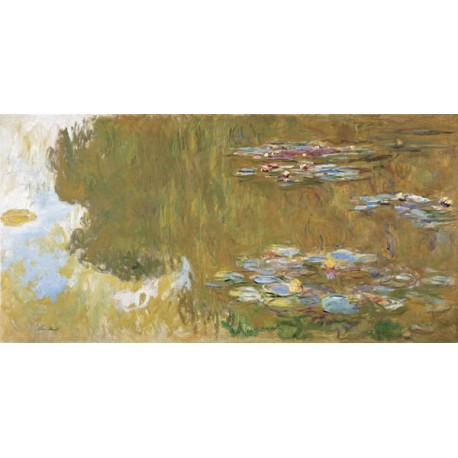 """C. Monet-Water Lily Pond.High Quality Art Picture for Home Decor with """"On Demand"""" Standards"""