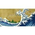 Hokusai - The Big Wave. Riproduzione Originale per Soggiorno o Camera