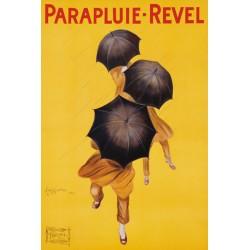 Leonetto Cappiello - Parpluie-Revel, 1922 Quadro Vintage con Stampa Fine Art su Canvas o Carta.