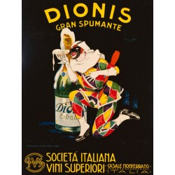 Plinio Codognato - Dionis, 1928. High quality Print on Canvas or Artistic Paper