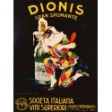 Plinio Codognato - Dionis, 1928. Quadro Vintage con Stampa Fine Art su Canvas o Carta.