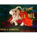 Leonetto Cappiello Je ne fume que Le Nil, 1912 High quality Print on Canvas or Artistic Paper
