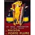 Jean D'Ylen La Maison du Porte-Plume, 1924 High quality Print on Canvas or Artistic Paper