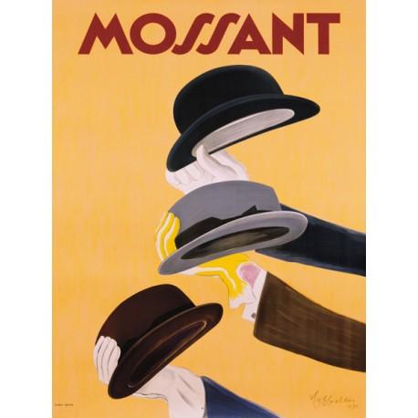 Leonetto Cappiello Mossant, 1938 Quadro Vintage Stampa Fine Art su Canvas o Carta.