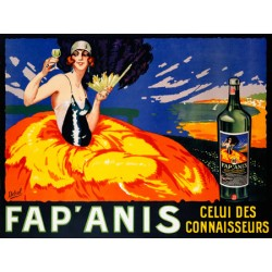 Delval Fap' Anis, ca. 1920-1930 High quality Print on Canvas or Artistic Paper