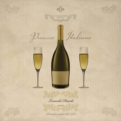 Prosecco Italiano, Sandro Ferrari on high quality print