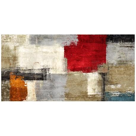Jazz - Alessio Aprile - Quadro Astratto stilizzato dai colori vivaci, Stampa Fine Art su Tela Canvas