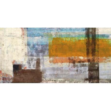 Serendipity - Alessio Aprile - Quadro Astratto stilizzato dai colori vivaci, Stampa Fine Art su Tela Canvas