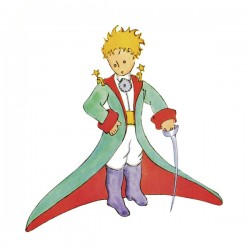 Antoine De Saint-Exupery,Little Prince 2-Made To Measure Original Picture for Home Decor