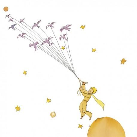 Antoine De Saint-Exupery,Petit Prince 1-Quadro con Piccolo Principe, Originale su Licenza, Misure varie