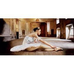 Rehearsal (Prove),Benson-Quadro con Ballerina Classica per Soggiorno o Camera da Letto.Misure a Scelta